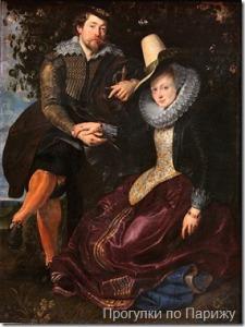 Рубенс. С женой