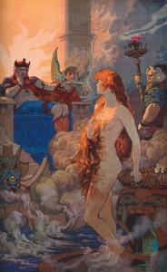Инанна в преисподей (Прозерпина во владениях Плутона)