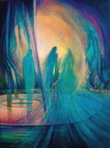 Синастрия. Уран. Нептун. Аспект к Нептуну