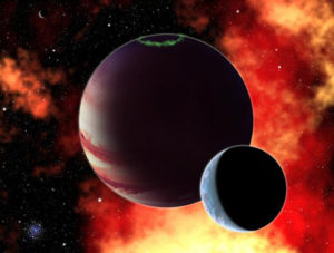 Стивен Арройо. Взаимообмены Юпитера и Нептуна.