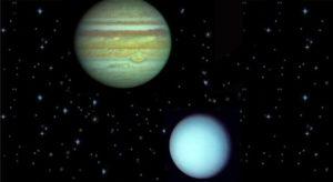 Стивен Арройо. Взаимообмены Юпитера и Урана.