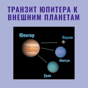 Стивен Арройо. Транзит Юпитера к внешним планетам.