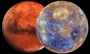 Говард Саспортас. Меркурий. Аспекты с Марсом.