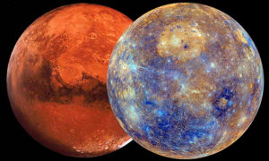Говард Саспортас. Марс. Квадратуры.
